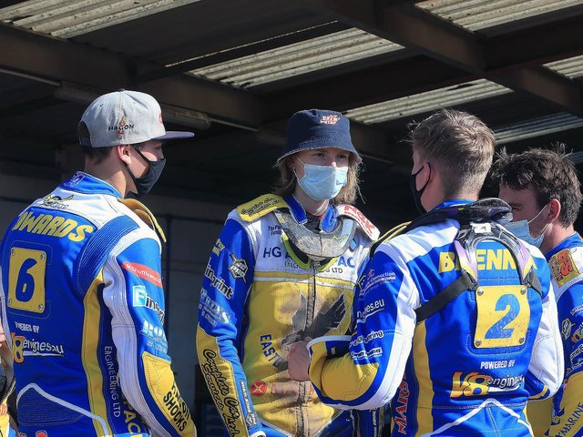 Eastbourne Eagles beat Kent in the Championship Knock-Out Cup / Pictures: Mike Hinves