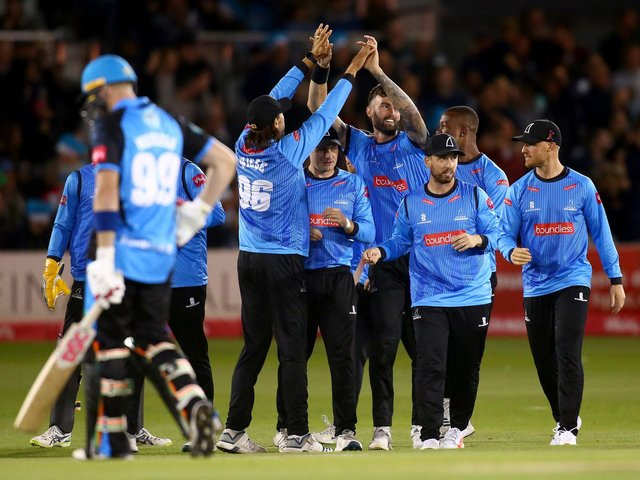 Sussex Sharks will be looking for more Blast success in 2021 and head coach James Kirtley believes they have a great chance / Picture: Getty