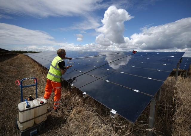 Solar farm plans