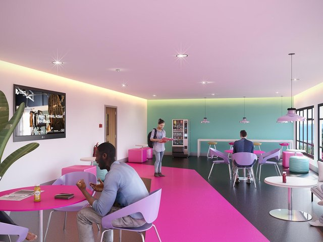 Brighton Film Studios - mock-up of what the studio will look like when it launches in September