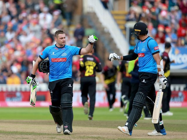 Can Luke Wright and David Wiese help Sussex get back to Blast finals day? Picture: Stephen Lawrence for Sussex Cricket