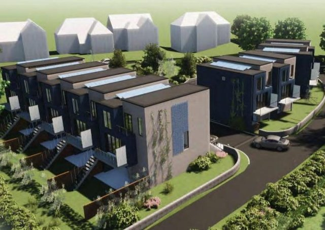 Designs of the proposed new Seaford homes