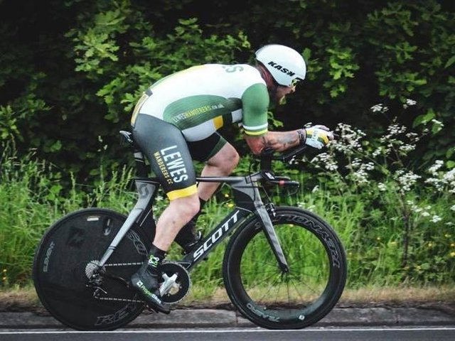Gavin Richards shone in the latest Wanderers time trial