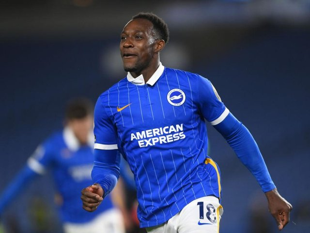 Danny Welbeck scored six goals for Albion last season and has been offered a new deal