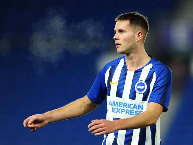 Brighton midfielder Teddy Jenks could be playing in the Europa Conference League  next season