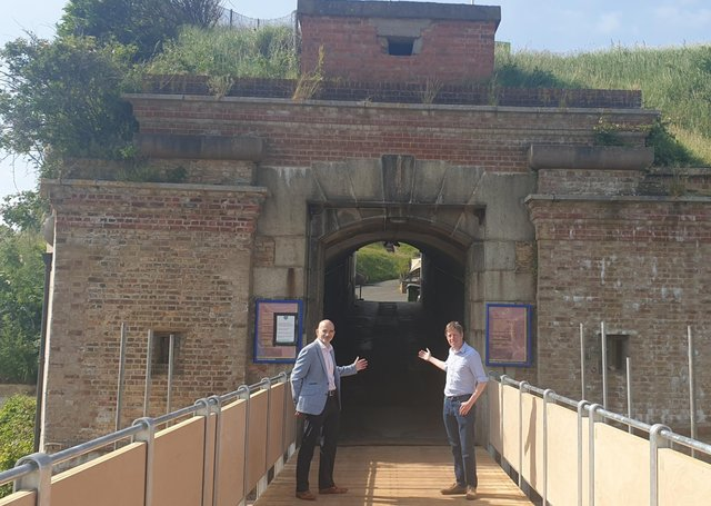 Newhaven Fort is preparing to reopen