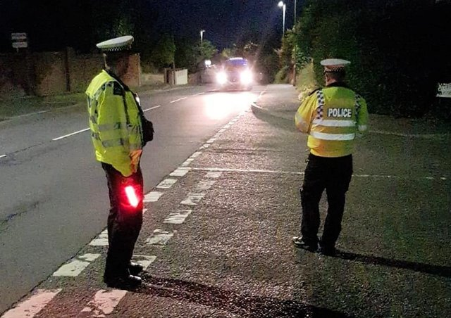 Sussex Police said they made 20 arrests in the first three days of a summer crackdown on drink and drug-drivers. Picture: Sussex Police.