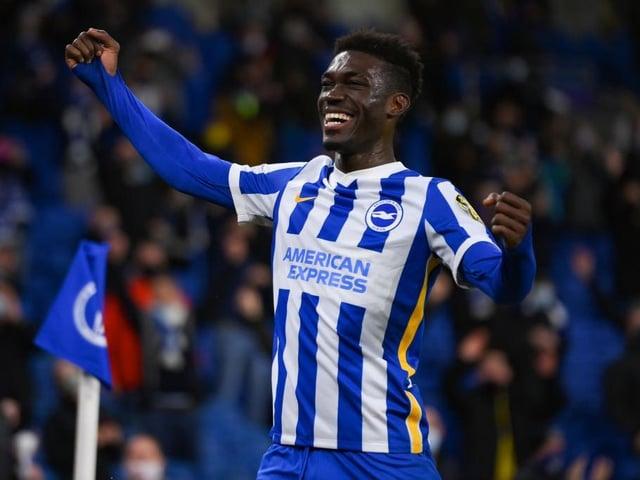 Yves Bissouma is a key man in the Brighton midfield
