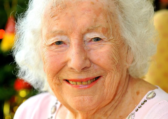 Dame Vera Lynn. Picture by Steve Robards