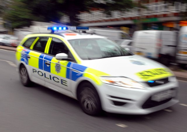 Police Car (Pic by Jon Rigby) SUS-170506-173459001