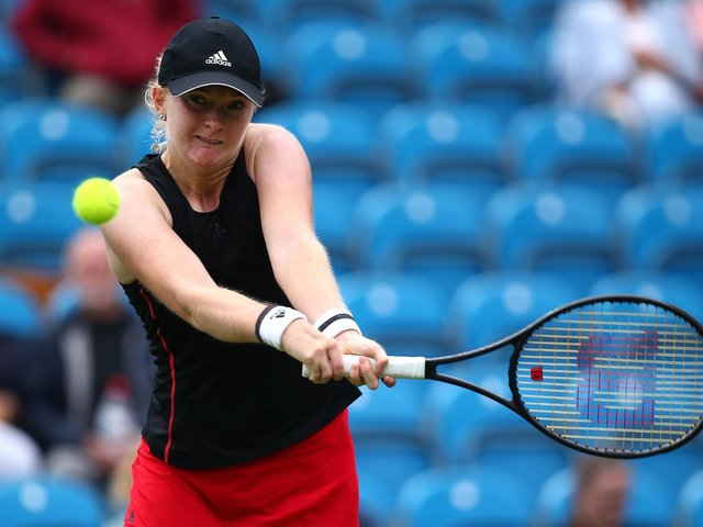 Fran Jones was one of the players to catch the eye on day one at Eastbourne / Picture: Charlie Crowhurst - Getty