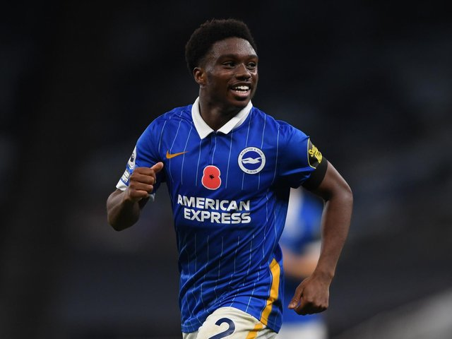 Tariq Lamptey missed the second half of Brighton's season with a hamstring injury