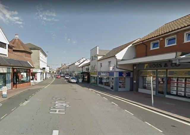 Hailsham High Street. Photo by Google Maps. SUS-210622-150540001