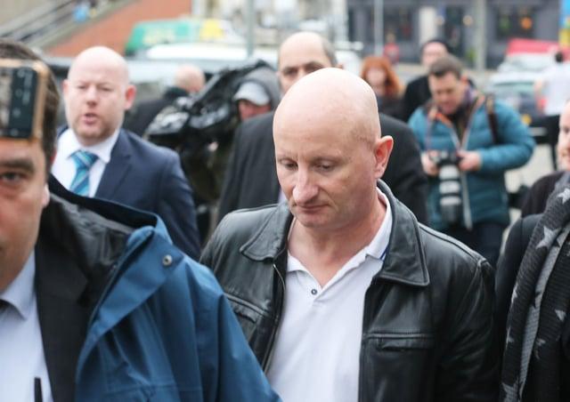 Steve Bouquet is on trial
