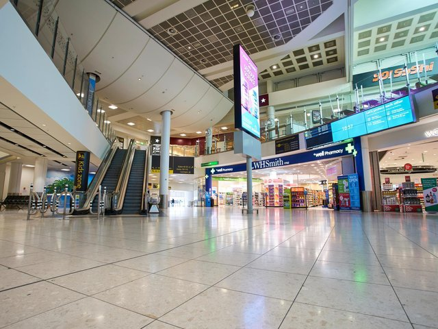 Gatwick Airport departure  lounge