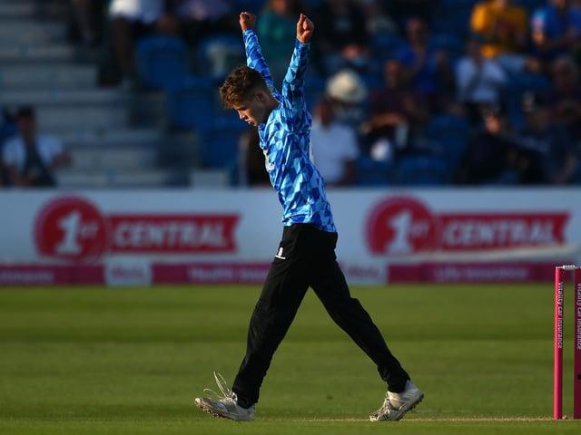 16-year-old Archie Lenham has burst onto the scene in the T20 Blast