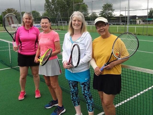 Hailsham Tennis Club ladies' second team