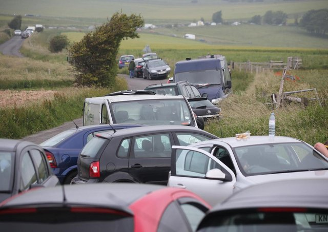Anyone planning on attending the event is warned not to travel to the site. Photo: Eddie Mitchell
