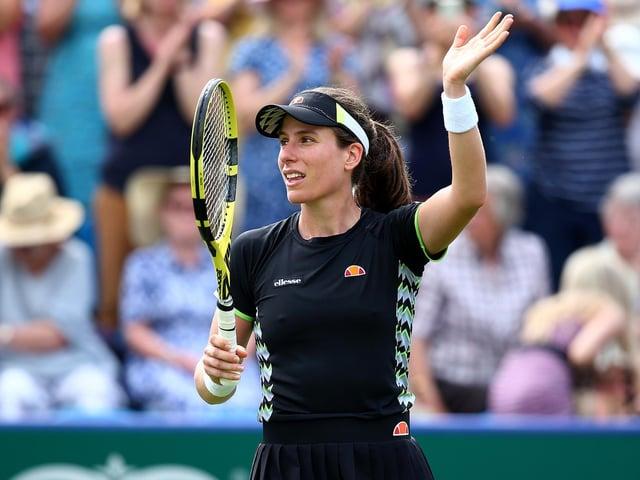 Johanna Konta is out of Wimbledon