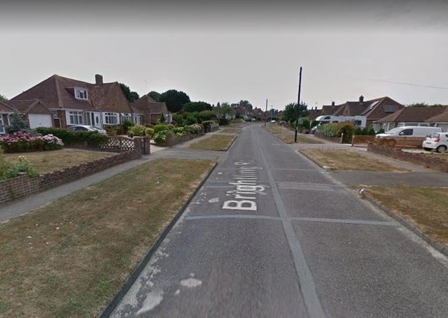 Brightling Road, Polegate. Photo from Google Maps. SUS-210629-145039001
