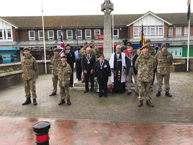 Armed Forces Day 2021 in Hailsham. SUS-210629-120158001