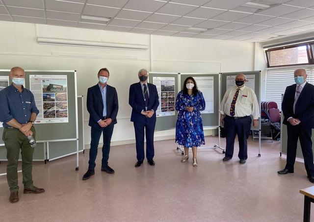 Nusrat Ghani MP at the public consultation