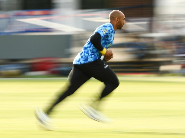 Tymal Mills couldn't save Sussex from defeat at Lord's / Picture: Getty