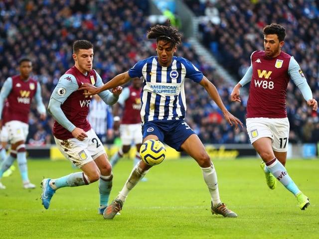 Bernardo made 50 appearances for Brighton