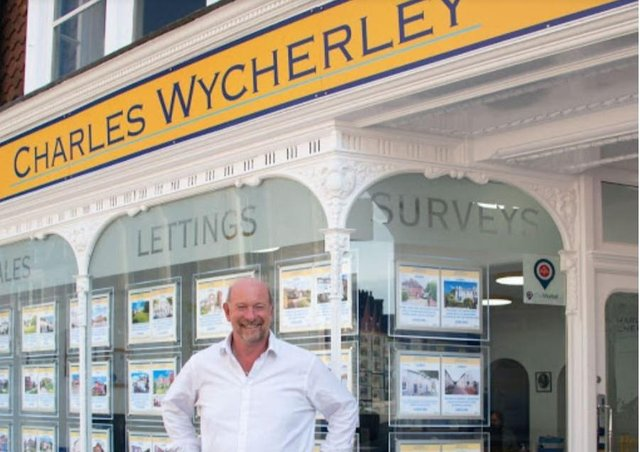 Charles Wycherley at 56 The High Street in Lewes