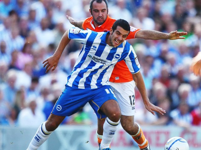 Gary Dicker on his previous spell at Albion
