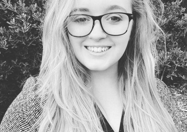 Newly elected councillor Katie Sanderson