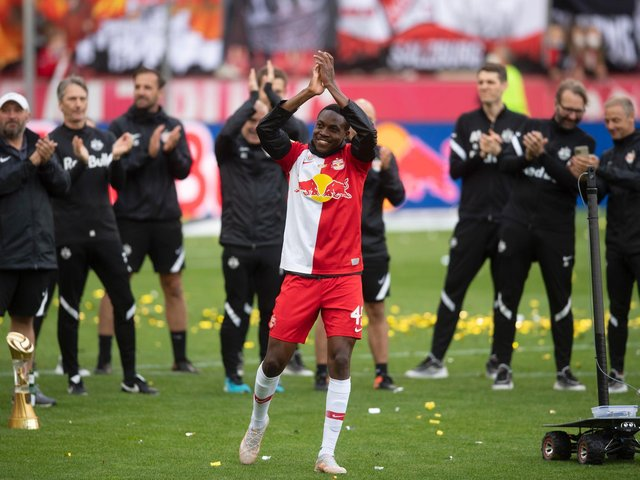 Mwepu came through the ranks with NAPSA stars in his homeland, joining Salzburg in 2017.