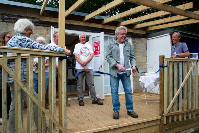 The Grand Opening Fete for the new community shed