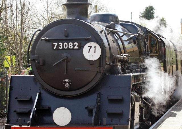 Police said a large quantity of metal and brass has been stolen from The Bluebell Railway at Horsted Keynes. Photo: Derek Martin.