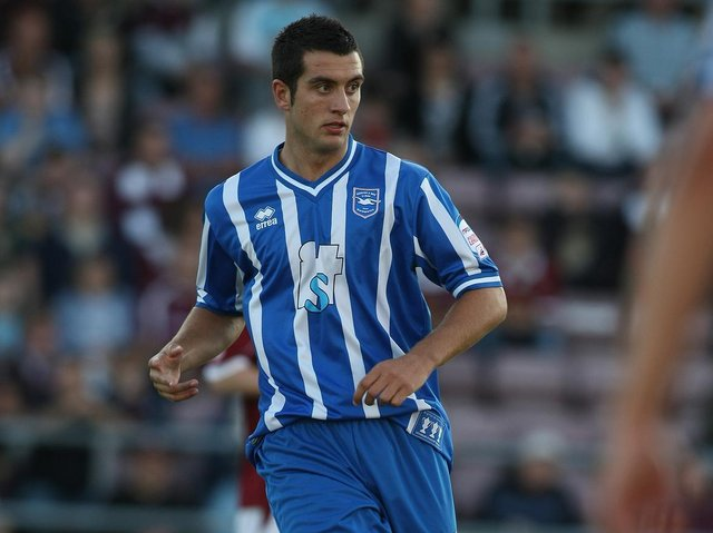 Gary Dicker is back at the Seagulls