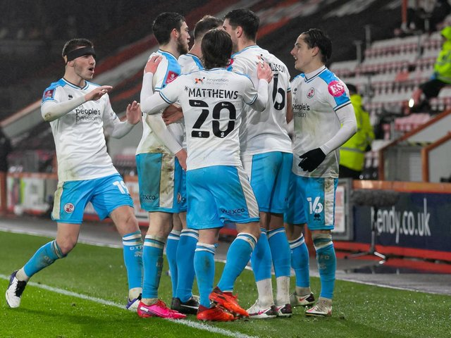 Crawley Town were the Sussex FA Cup heroes in 2020-21, reaching this fourth round tie at Bournemouth after beating Leeds - who will fly the flag this season? Picture: Jamie Evans - UK Sports Images