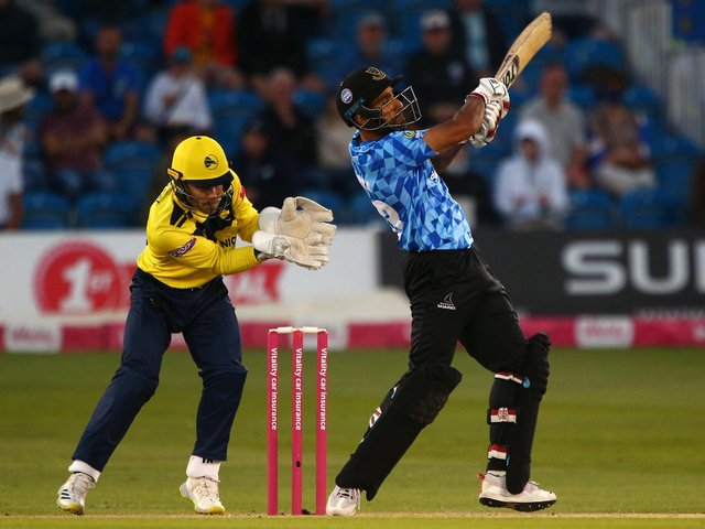 Ravi Bopara helped Sussex to an ultimately comfortable win over Essex / Picture: Getty