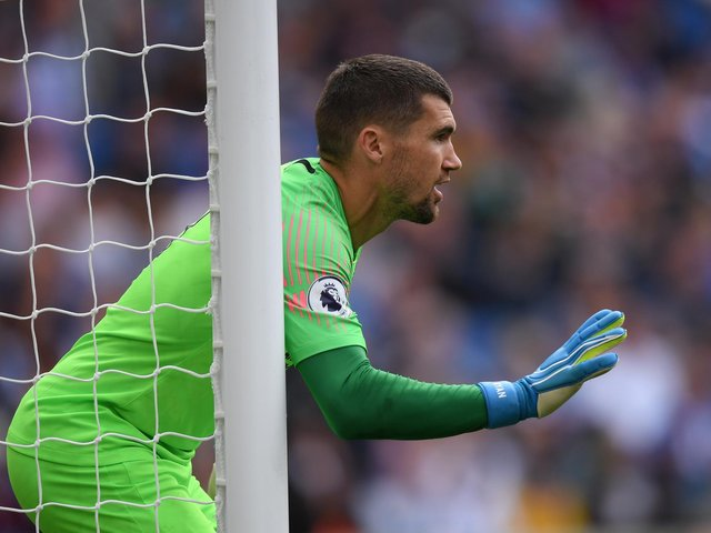Mat Ryan in action for the Seagulls
