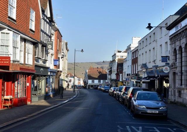 Lewes high street