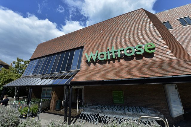 Waitrose in Eastbourne (Photo by Jon Rigby) SUS-171008-102847008