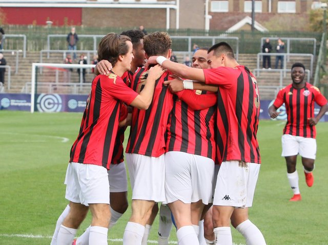 Lewes manager Tony Russell has said that over half of the teams in the Isthmian Premier Division could stake a claim for the title this season. Picture by Angela Brinkhurst