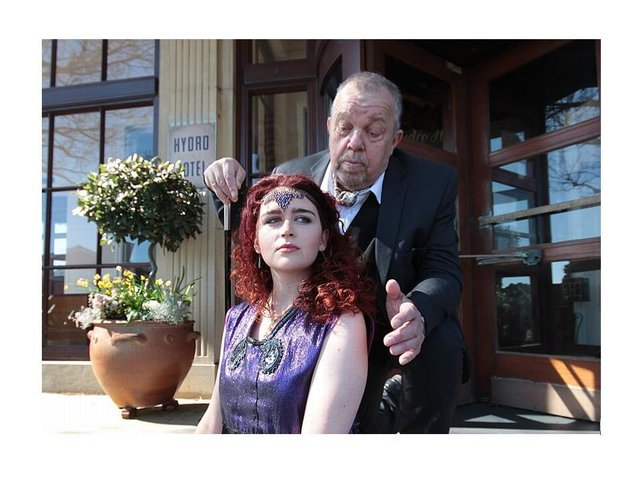 But will Petruchio (Mike Barber) always have the upper hand with Katerina (Elianna Matisse)?