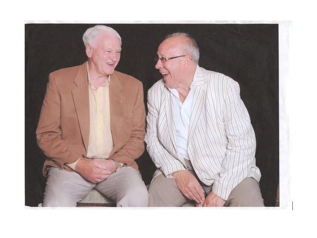 Bobby Robson and Bob